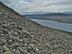 rocks & mountains & lake