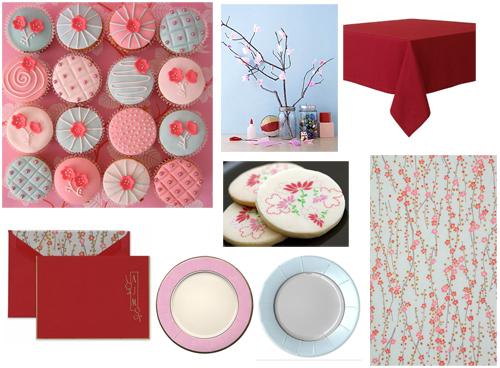 Cherry Blossom Shower Theme