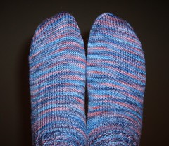 Baby Cable Rib Socks 028