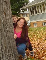 SP 40/365 - Hiding Behind a Tree!