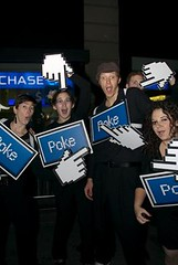 Halloween = Pokes (fleepy_99) Tags: new york halloween costume parade poke facebook pokes villageparade pokecards