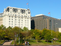 Washington, DC Willard Hotel and Marriott Hotel