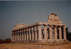 Paestum - Temple of Ceres (also called of Athena) (chi trevor's other pics) Tags: campania paestum greektemple tempiogreco templeofceres
