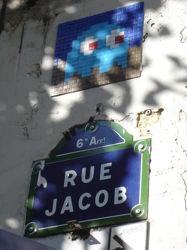 Mosaic Graffiti - Paris