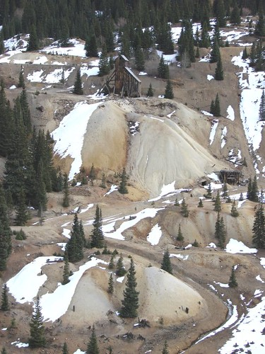 Old mine on San Juan Skyway