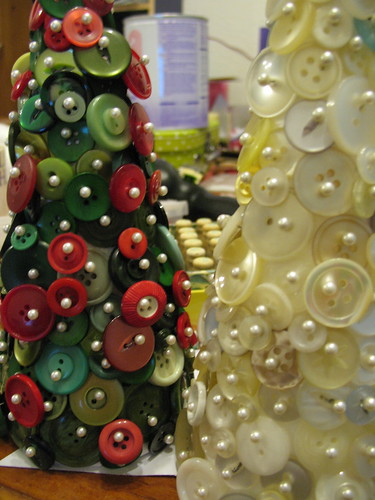 Button Christmas Trees por RellyAB.