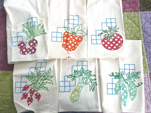 Vegetable Tea Towels
