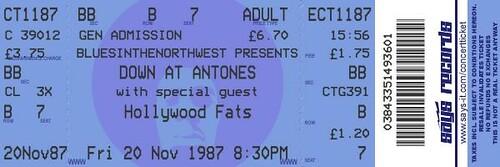 fake ticket