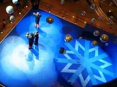 A performance inside the Mall of Emirates, Dubai (GirlWithBigEyes) Tags: travel wow dubai uae