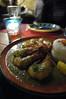 Camarones con Salsa Verde, Fonda de la Madrugada, Harajuku
