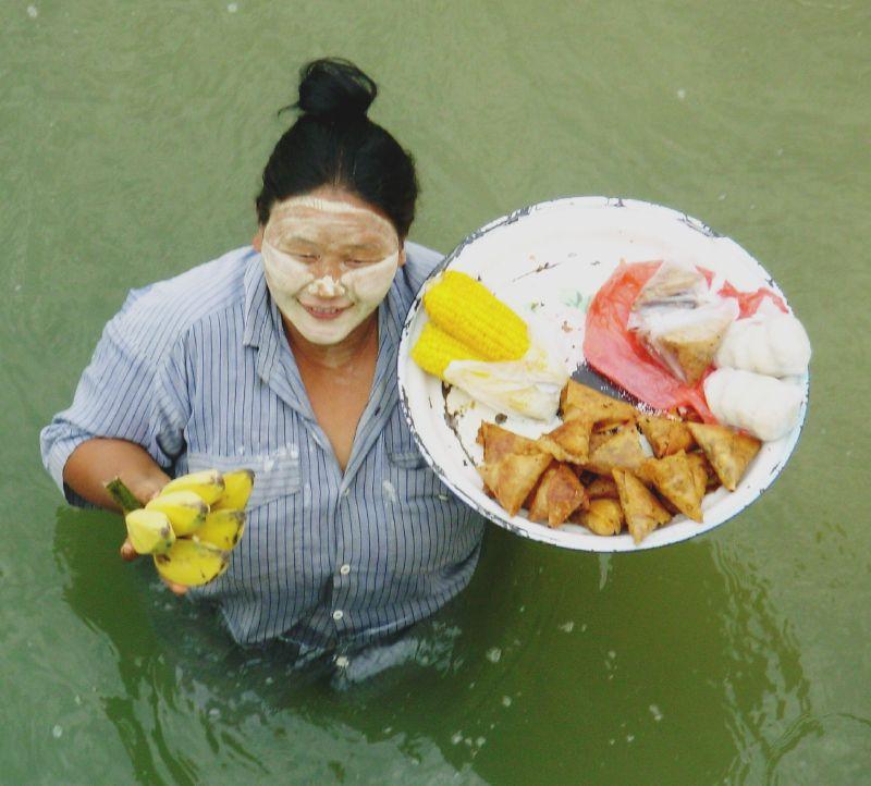 Sur l'eau-Vers Bagan (4)