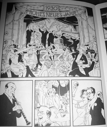 Frohes Neue Jahr, 1930 (from Berlin #13 by Jason Lutes)