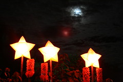 christmas parols in camp john hay manor (Saki!) Tags: moon night butterfly star parol saki campjohnhay