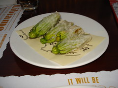 zucchini blossoms at san marco