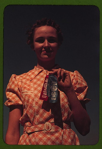 Winner at the Delta County Fair, Colorado (LOC)
