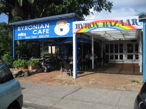 Byron Bay cafe