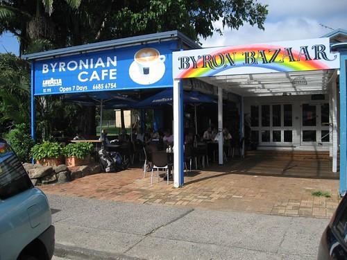 Byron Bay cafe