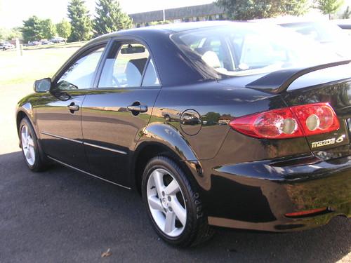 Mazda 6 2003 Black. 2003 Mazda 6 black