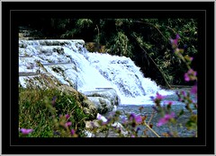 Tuscany Saturnia:  lime sinter waterfall  59.167.02 (Juergen Kurlvink) Tags: trip travel italien vacation italy eye water river landscape geotagged waterfall eau wasser europa europe italia tour wasserfall south urlaub terrasse eu rivers tuscany 1994 typical toscana jewels fluss region landschaft saturnia ferien brilliant calc jewel reise thermen sinter fleuve toskana maremma sd juergen typisch flsse terrassen fleuves brillianten calcsinter platinumphoto ysplix brillianteyejewel 0fav kurlvink kurli1 0allok terraceterraces natpeopfre