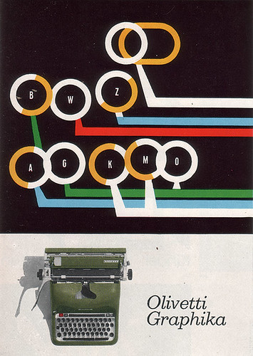 Olivetti Graphika Advertising