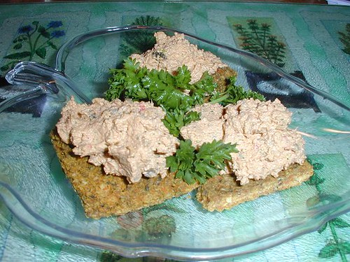 Crackers and Pate