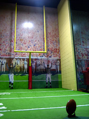 Field Goal at College Football Hall of Fame