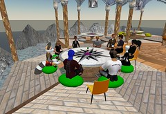 Meeting in Second Life.