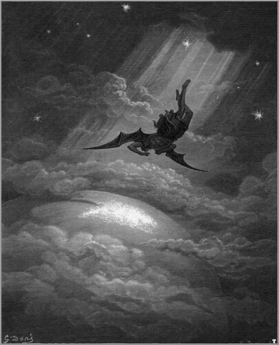 DORÉ, Gustave Illustration for John Milton's Paradise Lost 1866