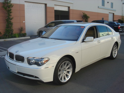 White Bmw 745 Pictures