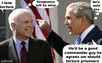 Vengeful McCain