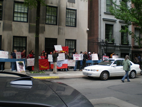 Protest for Burma