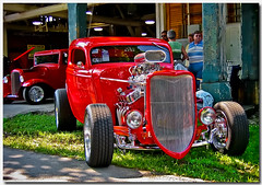 3 Window Ford (Mark O'Grady - Proudly Serving Millions of Viewers) Tags: auto ford car automobile transportation hotrod coupe streetrod supercharged blower 3334