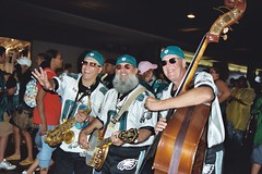 "Eagles Pep Band at 2007 Carnival • <a style=""font-size:0.8em;"" href=""http://www.flickr.com/photos/23560286@N02/2512197463/"" target=""_blank"">View on Flickr</a>"