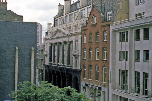 The Baltic Exchange in St Mary's Axe in the 1980's