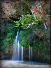 falling waters (Graela) Tags: park trees green water pool creek rocks natural state falls theenchantedcarousel kunstplatzlinternational