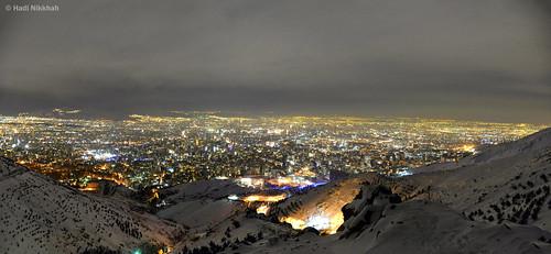 تهران در شب Tehran