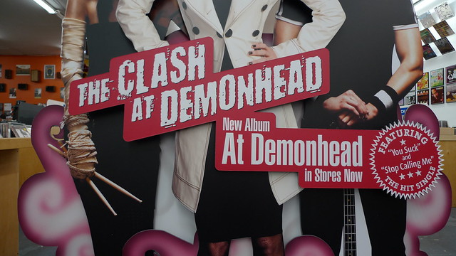 The Clash at Demonhead poster real life