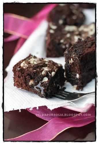 Choco Lava Brownies