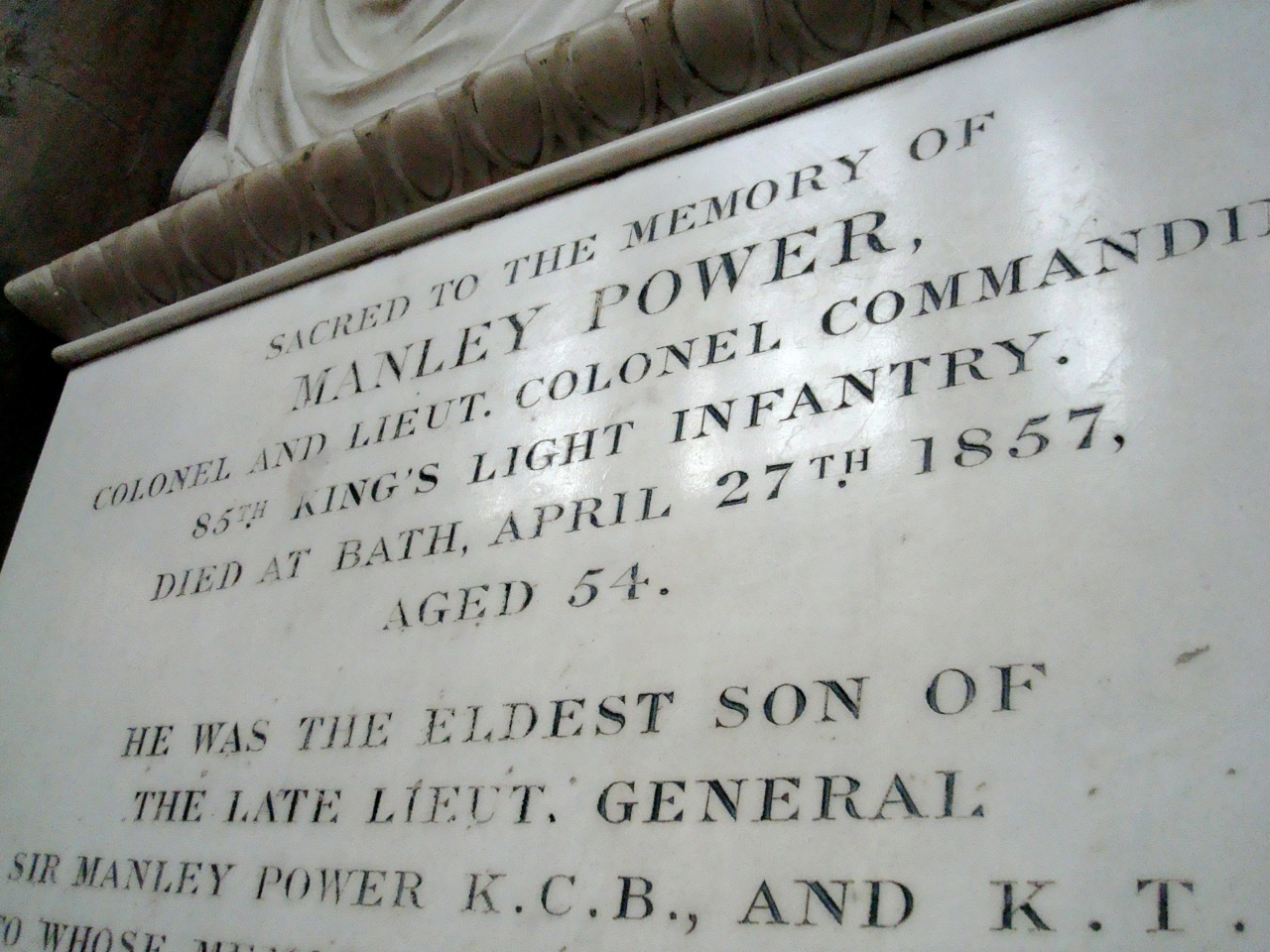 Best name ever- Manley Powers