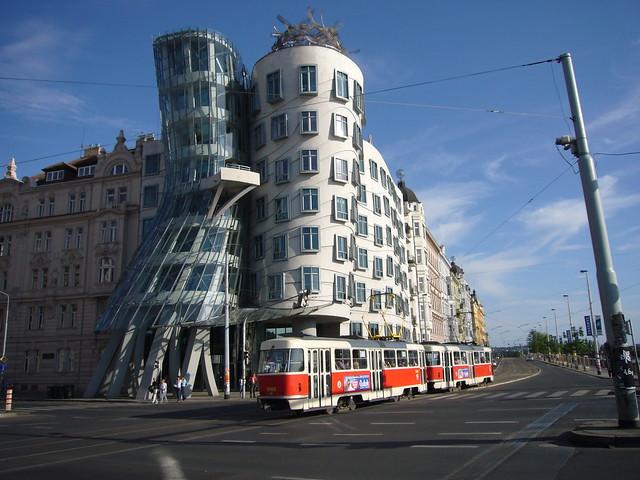 Dancing House -  PRAGUE - Tančící dům - Praha