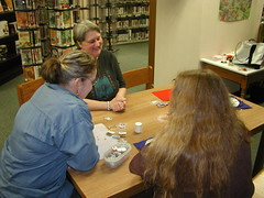 Sandstone Library's crafters