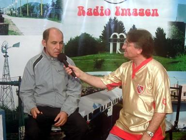 Ricardo Enrique -Bocha- Bochini entrevistado por Mateo Palmeri en Radio-Imagen