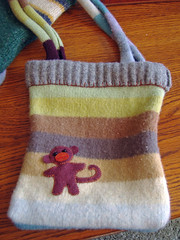 Monkey Sweater Tote