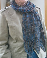 Wide Border Scarf