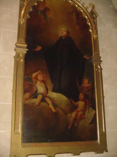 San Plácido, obra de Guillem Mesquida Munar