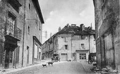 Rue du commerce à Orgelet (Jura)