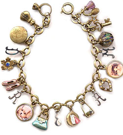 a magical charm bracelet