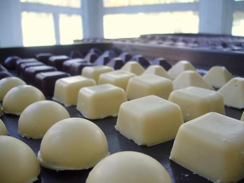 White Chocolate & Mint Cream