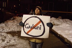 Anti-Giuliani GOP Protester