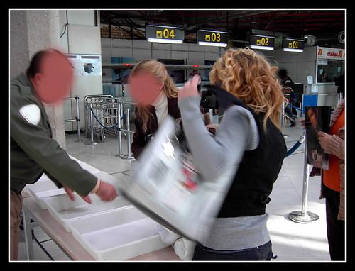 caos en el aeropuerto